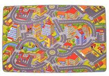 Detský koberec Cesty Rallye VOPI 140 x 200 cm