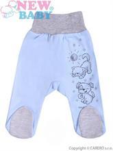New Baby Polodupačky pre bábätko BEST FRIENDS modré - vel. 68