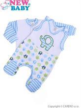 New Baby Dvojdielna dojčenská súprava Sloník modrá - vel. 62