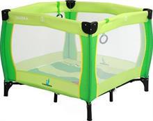 CARETERO Quadra Green detská skladacia ohrádka