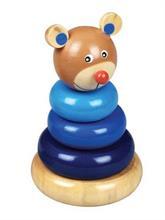 Baby Mix Drevená edukačná hračka - medvedík