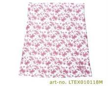 Tehotenský pás BellyBand hladký - biely s ružovými kvietočkov
