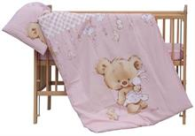 Detské obliečky 2dielna súprava Scarlett Gris 90x120 cm ruzová