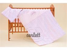 Detské obliečky 2dielne - Filip ružový