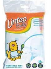 LINTEO BABY Jednorazové podbradníky na cestovanie - 10 ks
