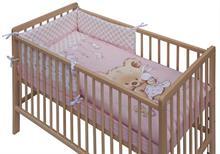 Scarlett Detské obliečky 6dielne Grisi růžové 120x90 cm