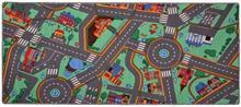 Detský koberec na hranie Cesty City life 95 x 200 cm
