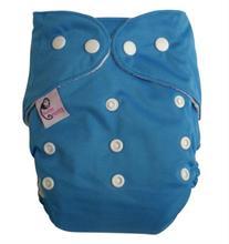 nohavičkové plienky Sweet Monkey VŠETKO V JEDNOM - neónky modrá patentky