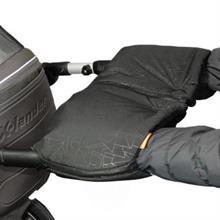 EMITEX Rukávník na kočárek nebo golfky DUO 2v1 EXTRA - černý