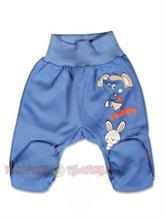 New Baby kojenecké půldupačky Lucky - modré - vel. 62