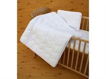 Souprava přikrývka + polštář duté vlákno bavlna Satin 135x100