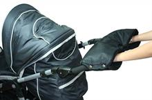 Emitex rukávník ke kočárku - černá