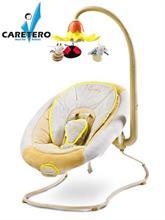 Dětské lehátko CARETERO BLOSSOM beige