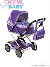 New Baby Dětský kočárek pro panenky 2 v 1 Lily
