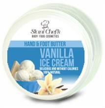 HRISTINA Přírodní krém na ruce a chodidla Vanilková zmrzlina 100 ml