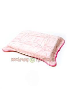 Španielska deka Bobas 80x110 ružová bez obrázku