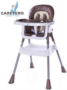 CARETERO Detská jedálenská stolička POP - Brown
