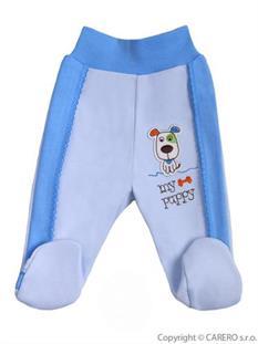 BOBAS Dojčenské pololdupačky HAPPY BALLOON modré - vel. 74
