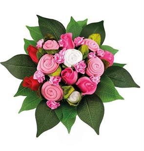Babuqee Kytice k narodeniu bábätka - ružová