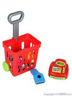 BAYO Detský nákupný košík s príslušenstvom 24 ks