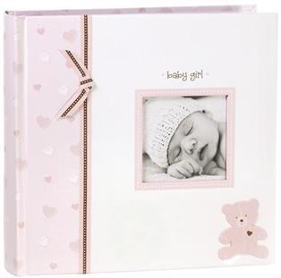 Pearhead Dětské fotoalbum - Růžový medvídek
