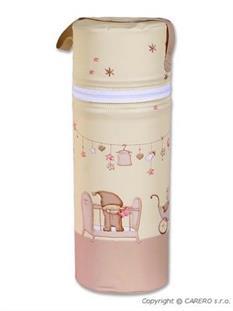 CEBA Termoobal na kojeneckou láhev Standard - hnědá
