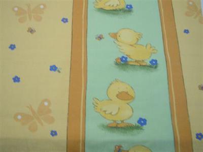 Dětské povlečení bavlna potisk - kačenky