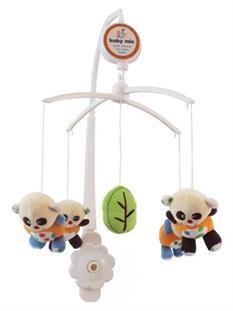 Baby Mix Hrací kolotoč nad postýlku - Panda