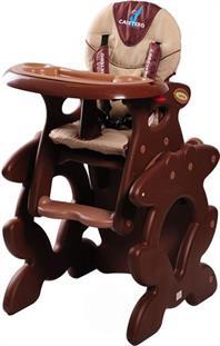 CARETERO Primus hnědá jídelní židlička