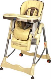 Jídelní židlička CARETERO Magnus Classic - cappucino