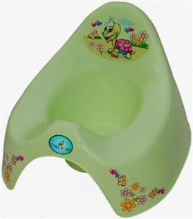 Tega dětský anatomický nočník zelená želvička