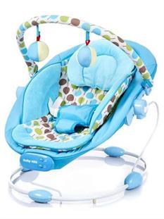 Baby Mix Dětské lehátko BLUE - modrá