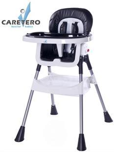 CARETERO Dětská jídelní židle POP - Black