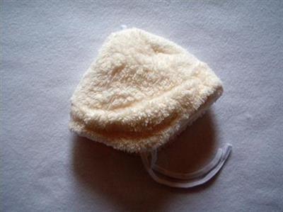 Čepička zimní WELLSOFT vel. 62 - smetanová