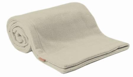 Deka fleece Emitex 70x100 cm - béžová / béžová