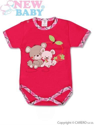 Bavlněné kojenecké body - dojčenské body