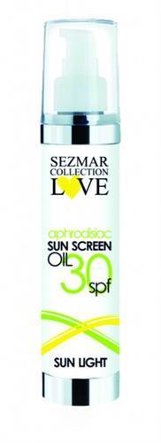 HRISTINA Přírodní olej na opalování s afrodiziaky 30 SPF