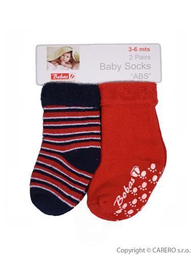 Kojenecké froté ponožky 2 páry