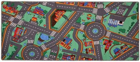 Dětský koberec Silnice City Life