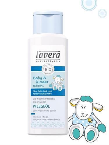 LAVERA Pečující dětský tělový olej BIO 200 ml