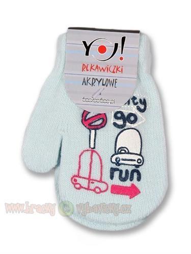 Yo company zimní kojenecké rukavičky
