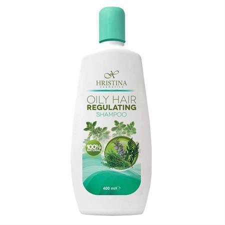 HRISTINA Přírodní šampon na mastné vlasy