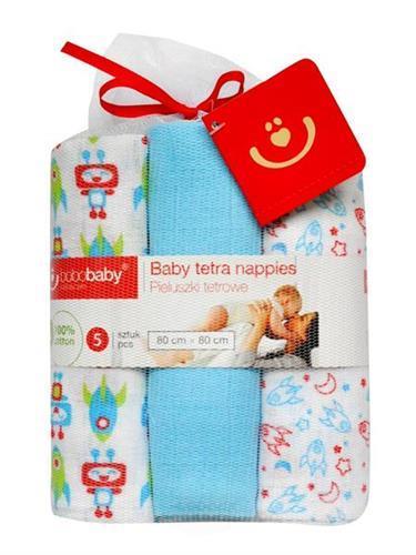 Bavlněné tetra plenky pro miminka