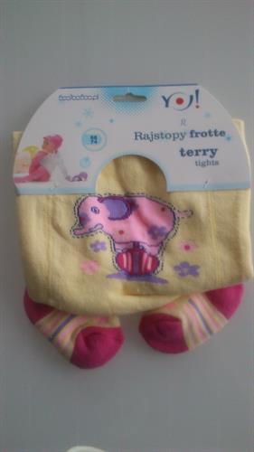 Froté punčocháčky pro miminka